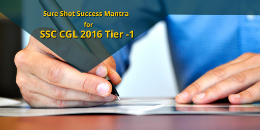 sure shot success mantra for SSC CGL tier 1 exam