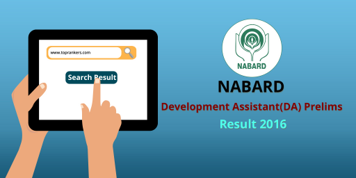 NABARD Development Assistant(DA) Prelims Result 2016