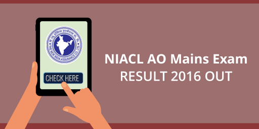 NIACL AO Mains Exam 2017 Result Out