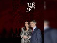 Nita Ambani honoured by The Met in NY for her philanthropic work