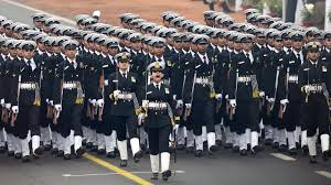 69th Republic Day Celebrated - India, UAE Soldiers March in Unison